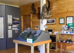 Appalachian Trail Visitor Center interior
