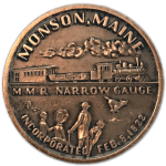 Commemorative coin - top